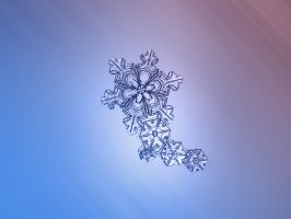 Chain of snowflakes by ChaoticMind75