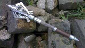 TES Skyrim: Steel Mace Prop Replica by TheAnti-Lily