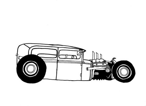 Chopped Rat Rod by muzz-dogg