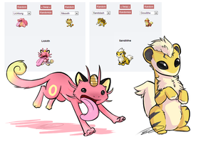 Some Pokemon Fusions