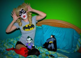 Harley Quinn: Silly Gal by HarleyTheSirenxoxo
