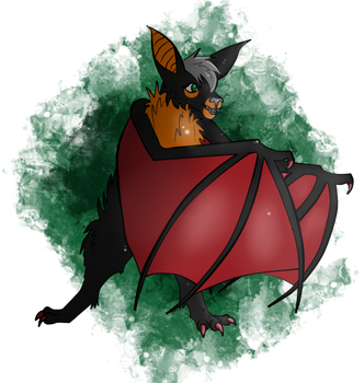 Riley the Bat by SamTheMoose101