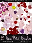 GIMP Rose Petals Brushes by Project-GimpBC