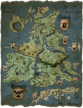 Map of Galilora by TMButler