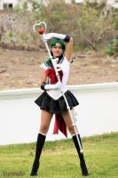 Super Sailor Pluto by Yunnale by Yunnale
