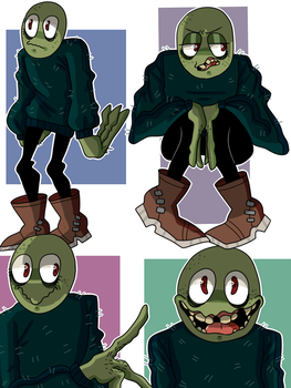 Salad Fingers by The-Invader-Trixie