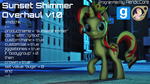 [DL] Sunset Shimmer Overhaul by AeridicCore