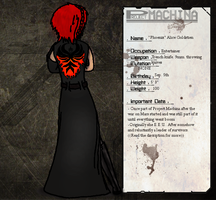 Project Machina Reboot- Alice Goldstien by Halloween-reject