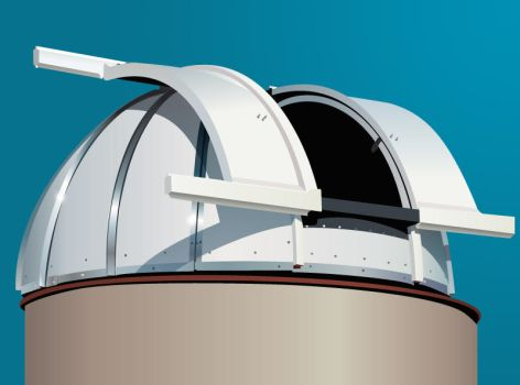 Observatory Dome by JaviArce