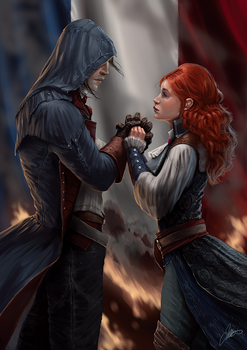 Arno and Elise by jodeee