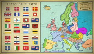 Map of Europe by Martin23230
