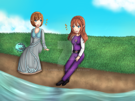Comm - Gold and Silver Linaric 3 (Final Part) by Juliana1121