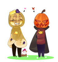Pancake and Jake by QUEEN-SHUN