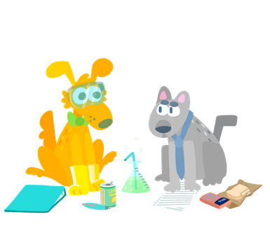 Fido And Steve from Accounting by skeletorg