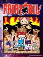 Fairy Tail Cover by iPhenixia