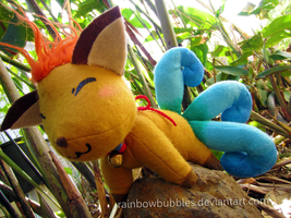 Commission:  Corrine ToS Fanplush by Rainbowbubbles