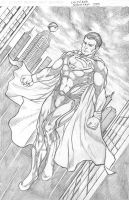 MAN OF STEEL by cristianosuguitani