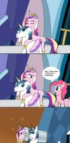 Tactical Cadance Launcher strip comic by Helsaabi