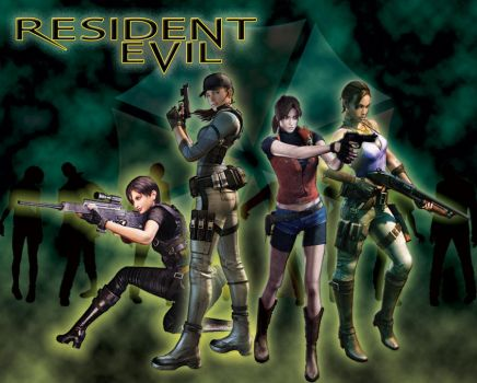 Resident Evil Ladies by theLadyRez