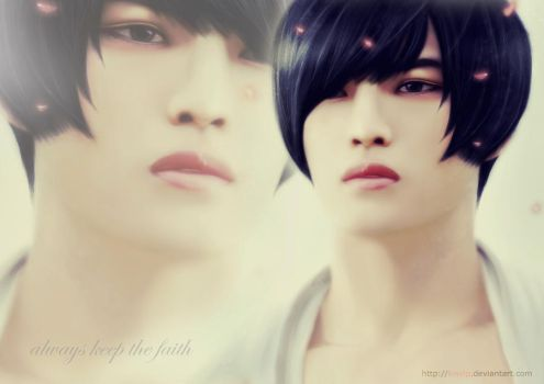 Jaejoong - keep the faith - by KisVIP