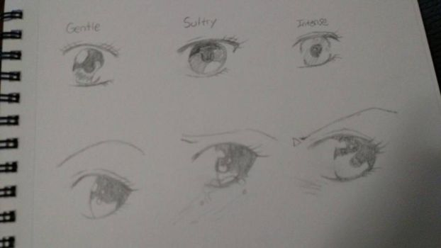 eye practice by mangalover101
