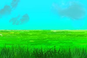 Anime Background: Country Side by FireSnake666