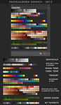 My Colour Swatch by Feohria