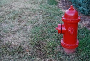 Red Hydrant by Bleed-Stock