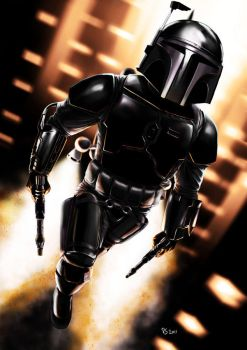 Jango Fett - Stealth Mode by Robert-Shane