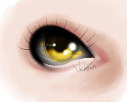 Golden eye by ShikiCreations