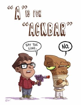 A Is For Ackbar by OtisFrampton