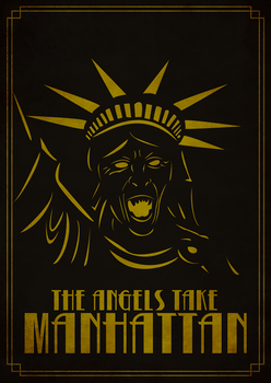 Doctor Who - The Angels take manhattan poster by donobowk