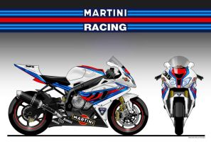 BMW S 1000 RR SBK MARTINI RACING TEAM 2011 by obiboi
