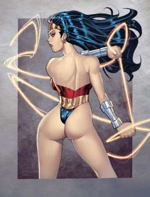 WonderWomanBooty-COLOR by RyanKinnaird