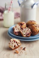 Cranberry Muffins by peachjuice