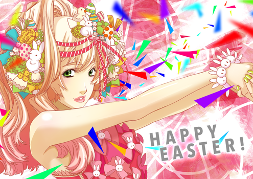 Happy Easter 2014 by TheAB-chan