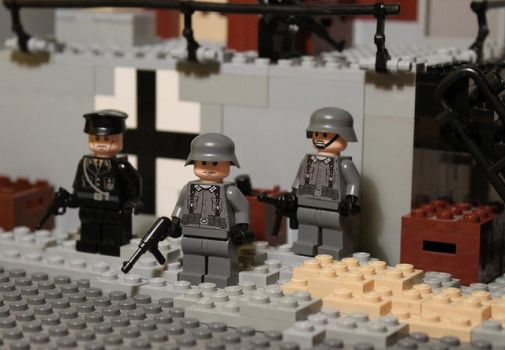 Wehrmacht Soldiers by exxtrooper