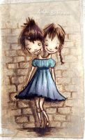 Anoi and Fren.. by neurotic-elf