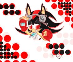 Shadow The Hedgehog by lilLulu-Chibi-Chibi