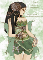 Hime: Coloured by joiachi