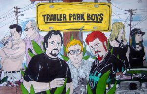 Trailer Park Boys by VitoGraffito