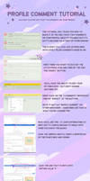 Profile Comment Tutorial by DaniGhost