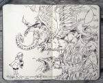 #107 Mythical Creatures by 365-DaysOfDoodles