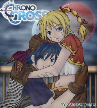Chrono Cross sketch colored by kethellen