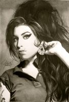 Amy Winehouse Portrait by ParaguayDraw
