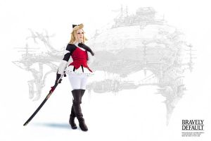 Edea Lee - Bravely Default by RomaiLee