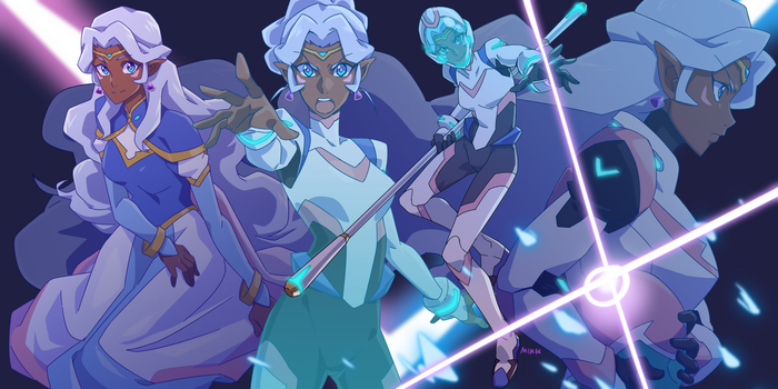 4 kinds of Allura by RustyArtist