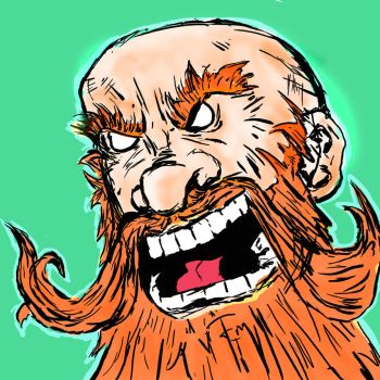 Angry Dwarf by Brianstumbaugh