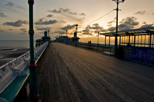 Blackpool North Pier by RichOrridge