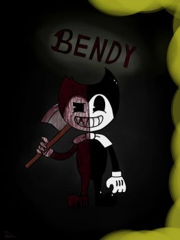 Bandy and the Ink Machine by AlKariMyrr
